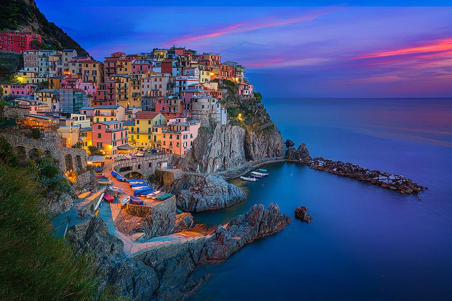Gorgeous Cinque Terre by Wix photographer Albert Dros