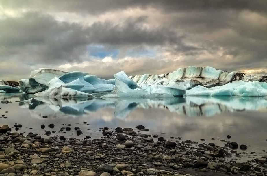 Glacier in Iceland by Wix photographer Martin Erwann