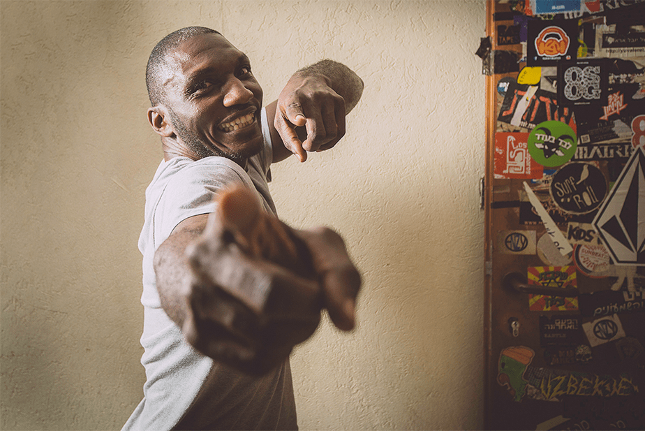Portrait photo of Cedric Burnside