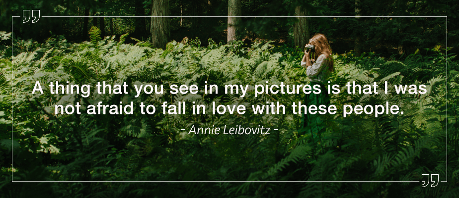 Annie Leibovitz quote