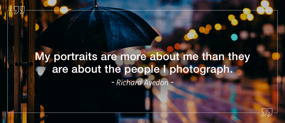 Richard Avedon quote