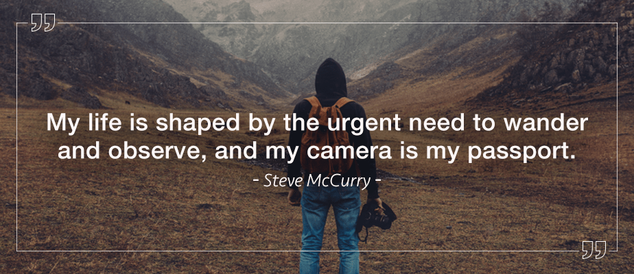 Steve McCurry quote