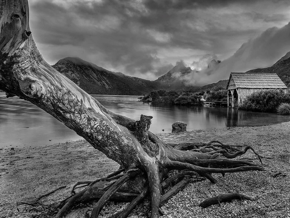 Beautiful Black & White Landscape Photo by Wix Photographer Alfonso Calero