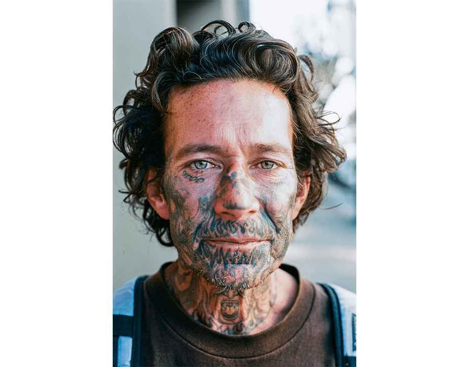 Street portrait photography by Wix photographer, Tony Salvagio