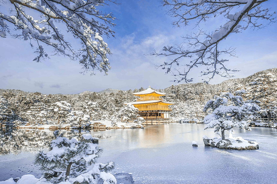 Kyoto in winter